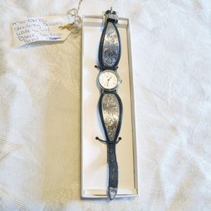Montana Silversmith Watch Sterling Silver leather